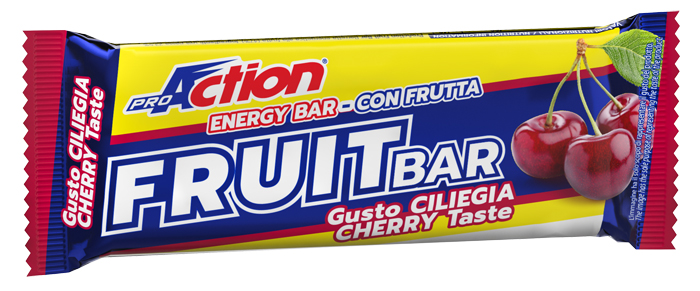 ProAction Fruit Bar Endurance Barretta Energetica alla Ciliegia 40 g - latuafarmaciaonline.it