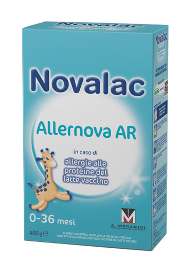 NOVALAC ALLERNOVA AR 400 G 0-6 MESI - Spacefarma.it