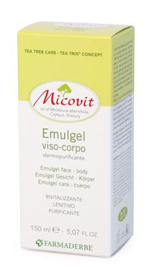 MICOVIT EMULGEL VISO/CORPO 150 ML - Farmacia Centrale Dr. Monteleone Adriano