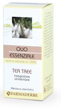 FARMADERBE OLIO ESSENZIALE TEA TREE 10 ML - Farmaseller