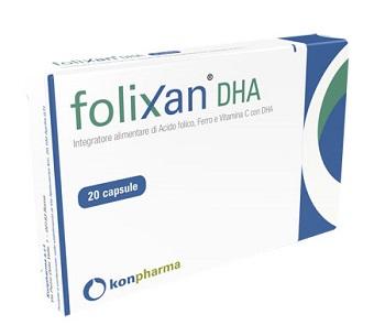 FOLIXAN DHA 20 CAPSULE 16,3 G - Parafarmacia la Fattoria della Salute S.n.c. di Delfini Dott.ssa Giulia e Marra Dott.ssa Michela