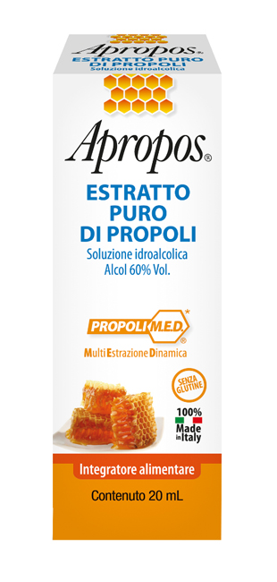 APROPOS ESTRATTO PURO PROPOLI 20 ML - La farmacia digitale