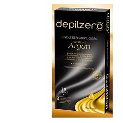 DEPILZERO ARGAN STRISCE DEPILATORIE CORPO 20 PEZZI - pharmaluna