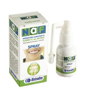 Naf Spray Orale Integratore di Fluoro 20 ml