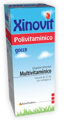 XINOVIT POLIVITAMINICO 12 ML - Carafarmacia.it