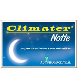 CLIMATER NOTTE 20 COMPRESSE OROSOLUBILI 600MG* - FARMAEMPORIO