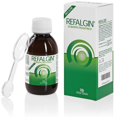 REFALGIN SCIROPPO PEDIATRICO 150 ML - FARMAPRIME