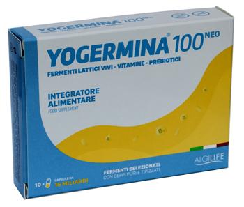 YOGERMINA 100 NEO 10 CAPSULE - SUBITOINFARMA