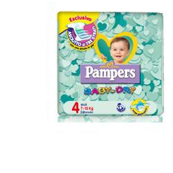 PAMPERS BABY DRY DOWNCOUNT MAXI PD 52 PEZZI - pharmaluna