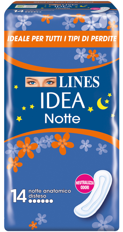 LINES IDEA NOTTE SENZA ALI 14 PEZZI - Zfarmacia