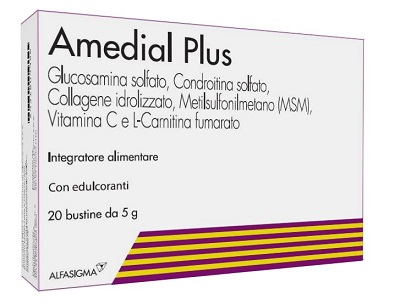 AMEDIAL PLUS 20 BUSTINE 5 G - Farmastop