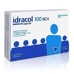 IDRACOL 100 BCH INTEGRATORE ALIMENTARE STIPSI E TRANSITO INTESTINALE ASTUCCIO 20 CAPSULE - Farmacia Massaro