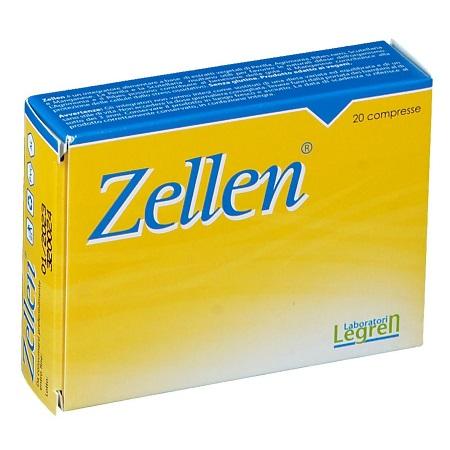 Zellen Integratore Alimentare 20 Compresse - Zfarmacia