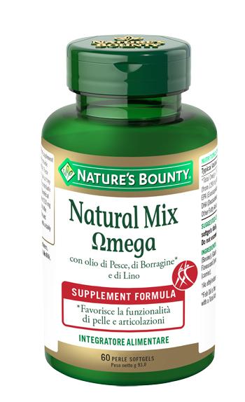 NATURAL MIX OMEGA 60 PERLE - Farmacia 33