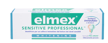 ELMEX SENSITIVE PROFESSIONAL WHITENING DENTIFRICIO 75 ML - farmaciadeglispeziali.it