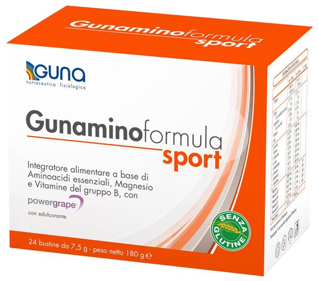 GUNAMINO FORM SPORT 42 BUSTE 315 G - Farmacia Giotti