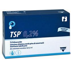 TSP 0,2% SOLUZIONE OFTALMICA UMETTANTE LUBRIFICANTE 30 FLACONCINI MONODOSE 0,5 ML - farmaciadeglispeziali.it