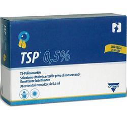 TSP 0,5% SOLUZIONE OFTALMICA UMETTANTE LUBRIFICANTE 30 FLACONCINI MONODOSE 0,5 ML - farmaciafalquigolfoparadiso.it