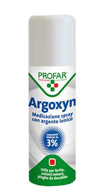 ARGOXYN MEDICAZIONE SPRAY ARGENTO IONICO 2,5% 125 ML - Farmapage.it