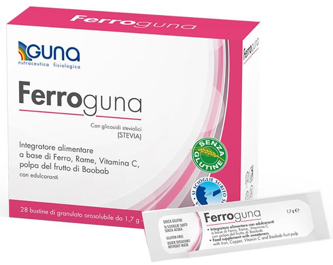 FERROGUNA 28 BUSTINE - Farmaci.me