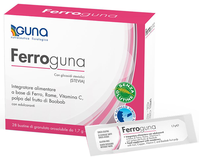 FERROGUNA 28 BUSTINE - La farmacia digitale