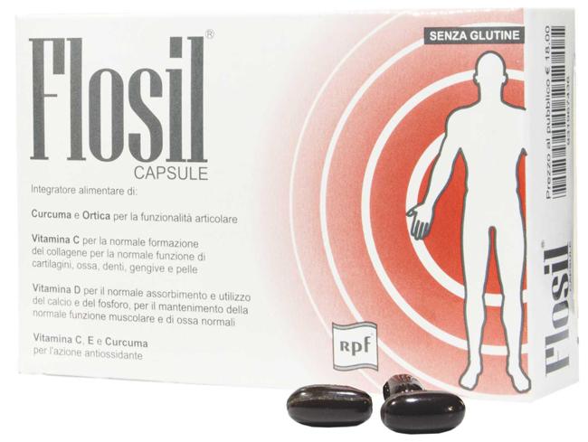 FLOSIL 20 CAPSULE SOFTGEL - Farmaunclick.it