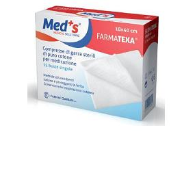 GARZA COMPRESSA MEDS FARMATEXA OCULARE 10 PEZZI - Farmaunclick.it