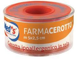CEROTTO MEDS IPOALLERGENICO TELA 500X2,5CM - Farmacielo