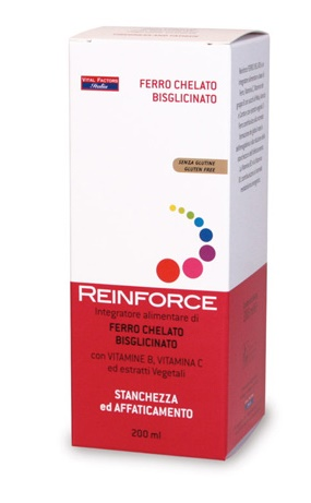 REINFORCE FERRO 200 ML - Iltuobenessereonline.it