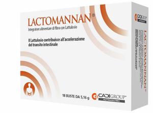 LACTOMANNAN 18 BUSTE 5,16 G - farmaciadeglispeziali.it