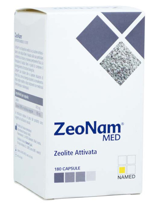 NAMED ZeoNam MED ZEOLITE ATTIVATA 180 CAPSULE - Farmawing