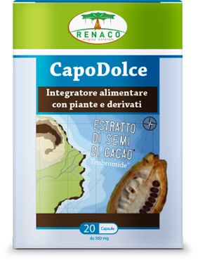 CAPODOLCE 20 CAPSULE BLISTER 10 G - Parafarmaciaigiardini.it
