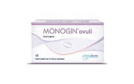 MONOGIN OVULI VAGINALI 10 PEZZI - Farmajoy