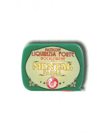 MENTAL LIQUIRIZIA SENZA ZUCCHERO 12 MG - Farmabellezza.it