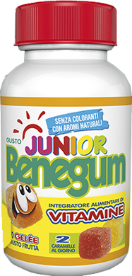 BENEGUM JUNIOR CARAMELLE GELEE VITAMINICO 150 G - Farmapc.it