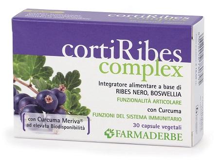 CORTI RIBES COMPLEX 30 CAPSULE - Zfarmacia