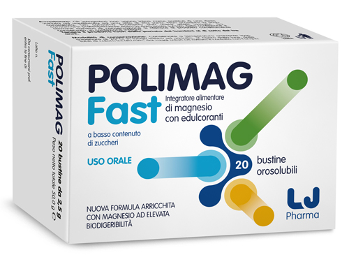 POLIMAG FAST 20 BUSTINE OROSOLUBILI - Farmafamily.it