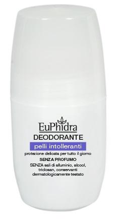 DEODORANTE IN EMULSIONE IN FLACONE ROLL-ON CON ASTUCCIO EUPHIDRA - Farmacia Massaro