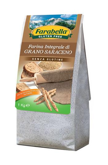 FARABELLA FARINA GRANO SARACENO 1 KG - Farmaseller