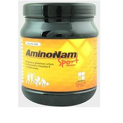 AMINONAM SPORT POLVERE BARATTOLO 500 G - Farmacia Giotti
