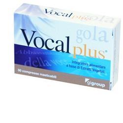 VOCAL PLUS 30 COMPRESSE - Farmaseller