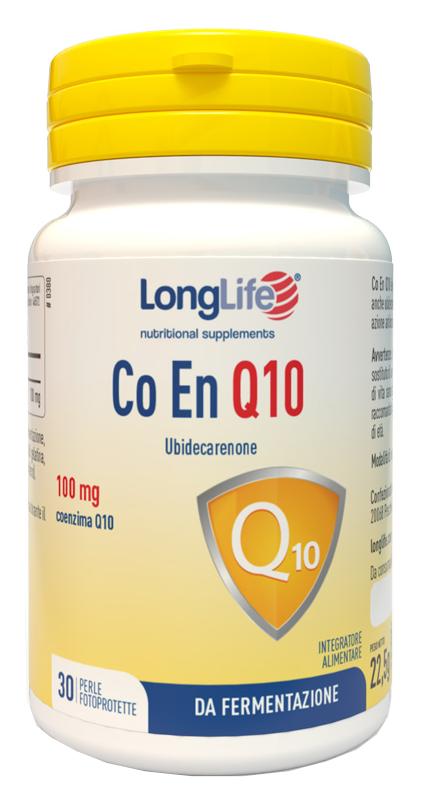 LONGLIFE COENQ10 100MG 30 PERLE - Farmajoy