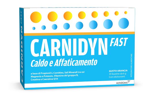 CARNIDYN FAST MAGNESIO/POTASSIO 20 BUSTINE - latuafarmaciaonline.it