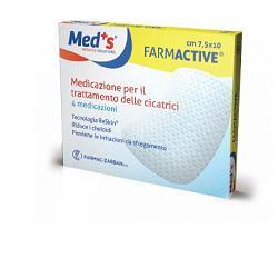CEROTTO FARMACTIVE CICATRICI 7,5X10CM 4 PEZZI - Farmacia33