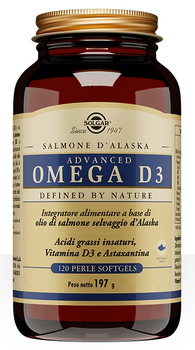 ADVANCED OMEGA D3 120 PERLE SOFTGELS - Farmacia Castel del Monte
