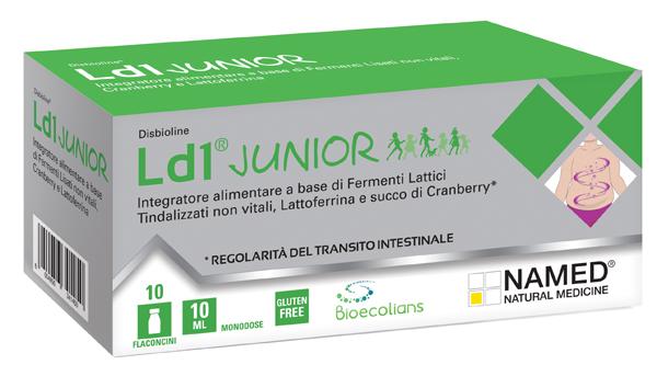 DISBIOLINE LD1 JUNIOR 10 FIALE MONODOSE 10 ML - Farmaciacarpediem.it