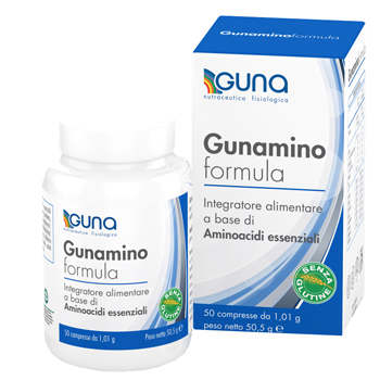 GUNAMINO FORMULA 50 COMPRESSE 50,50 G - Farmaciacarpediem.it