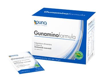 GUNAMINO FORMULA 24 BUSTINE 156 G - Farmafamily.it