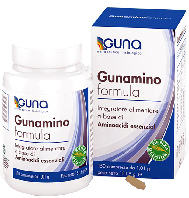 GUNAMINO FORMULA 150 COMPRESSE 151,50 G - Farmabros.it