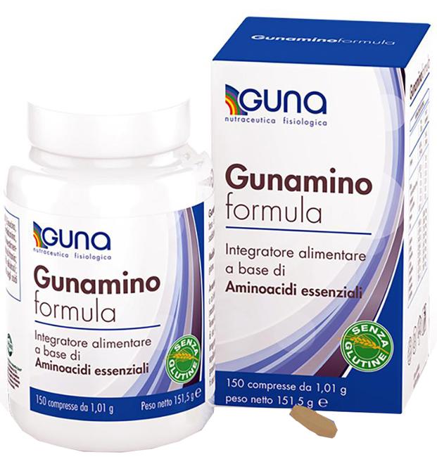 GUNAMINO FORMULA 150 COMPRESSE 151,50 G - Farmacia 33